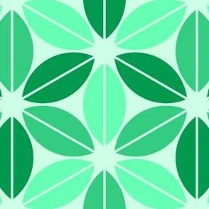 07656044 : R6lens leaf : pale emerald