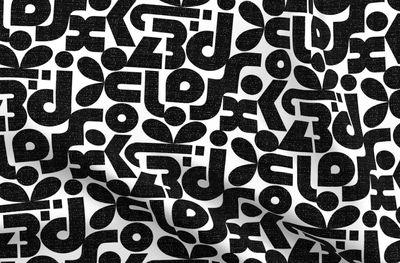 Texturé Artistique Moderne Bauhaus Des Points Font Des
