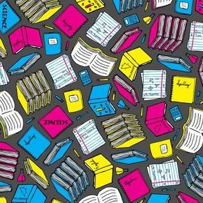 Hit the Books (Cyan, Magenta, Yellow, Black)