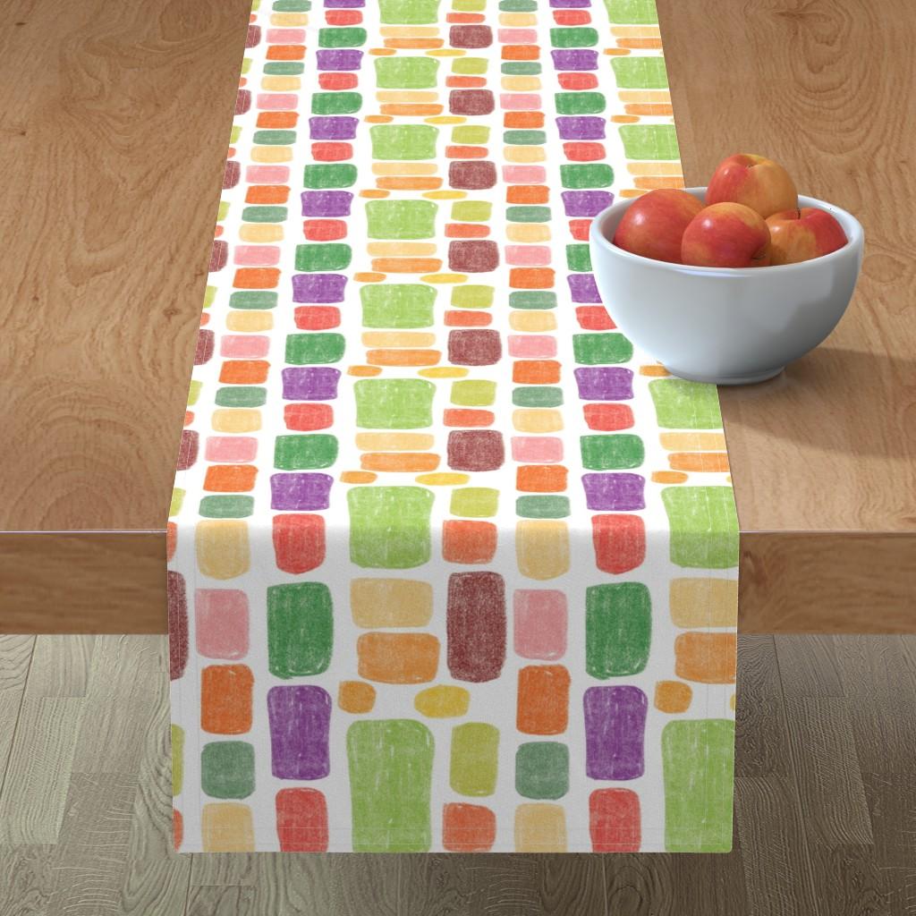 Minorca Table Runner featuring Multicolored stones by sandra_bereg
