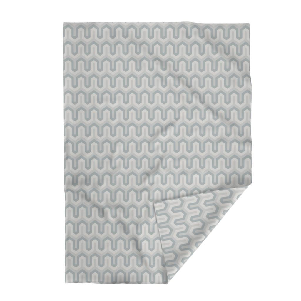 Lakenvelder Throw Blanket featuring  grey greek  02 150 by chicca_besso