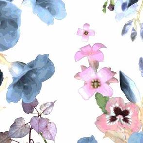 Allamandas in the Garden Blue