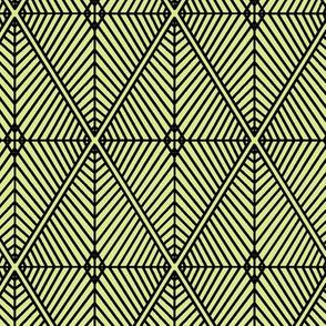 Rhombus Lime Black