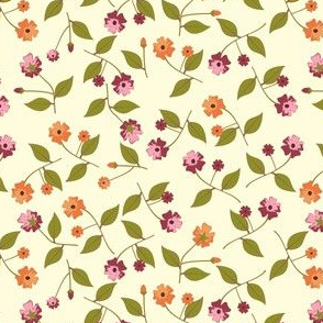 Flowers for the Table - Cream
