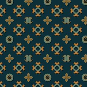 Oriental Colorful Pattern