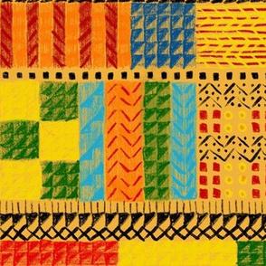 Gunta-inspired weaving