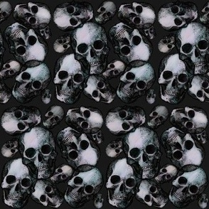Small goth skulls