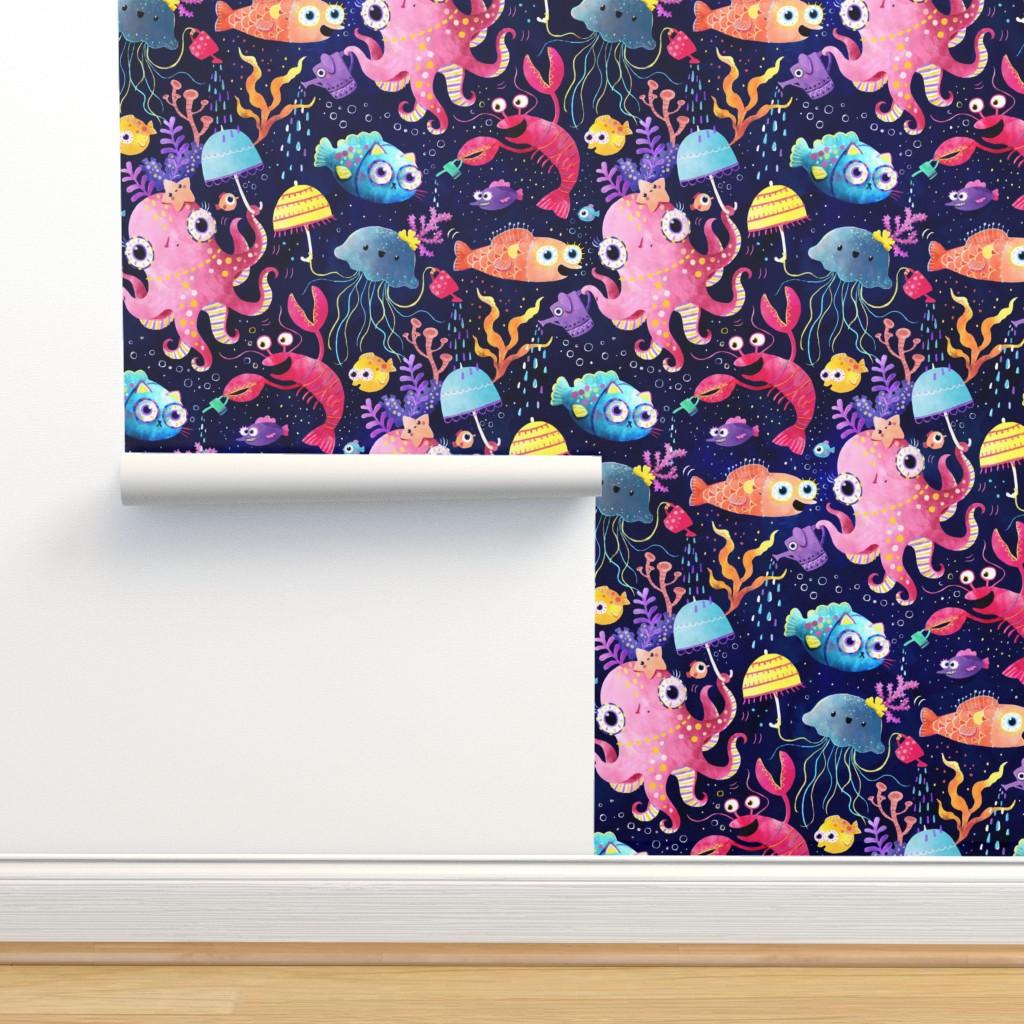 Isobar Durable Wallpaper featuring Underwater buzz by monika_suska