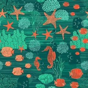 Ocean scribbles