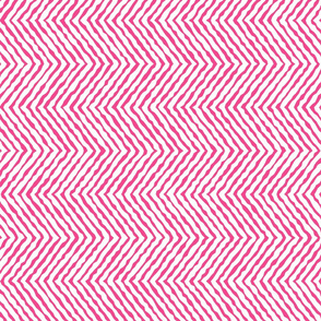 Large bright pink jungle chevron_wobbly-01-01-01-01
