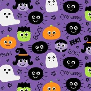halloween cuties purple » halloween