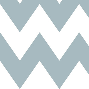 chevron xl slate blue