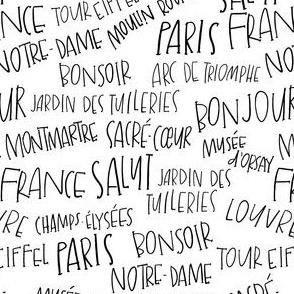 Lettered Paris