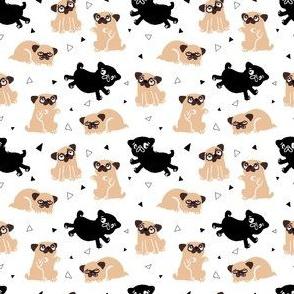 Pug Party Mixed Dog Mini Size