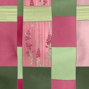 Weaver's Dream / Geometric Meets Floral