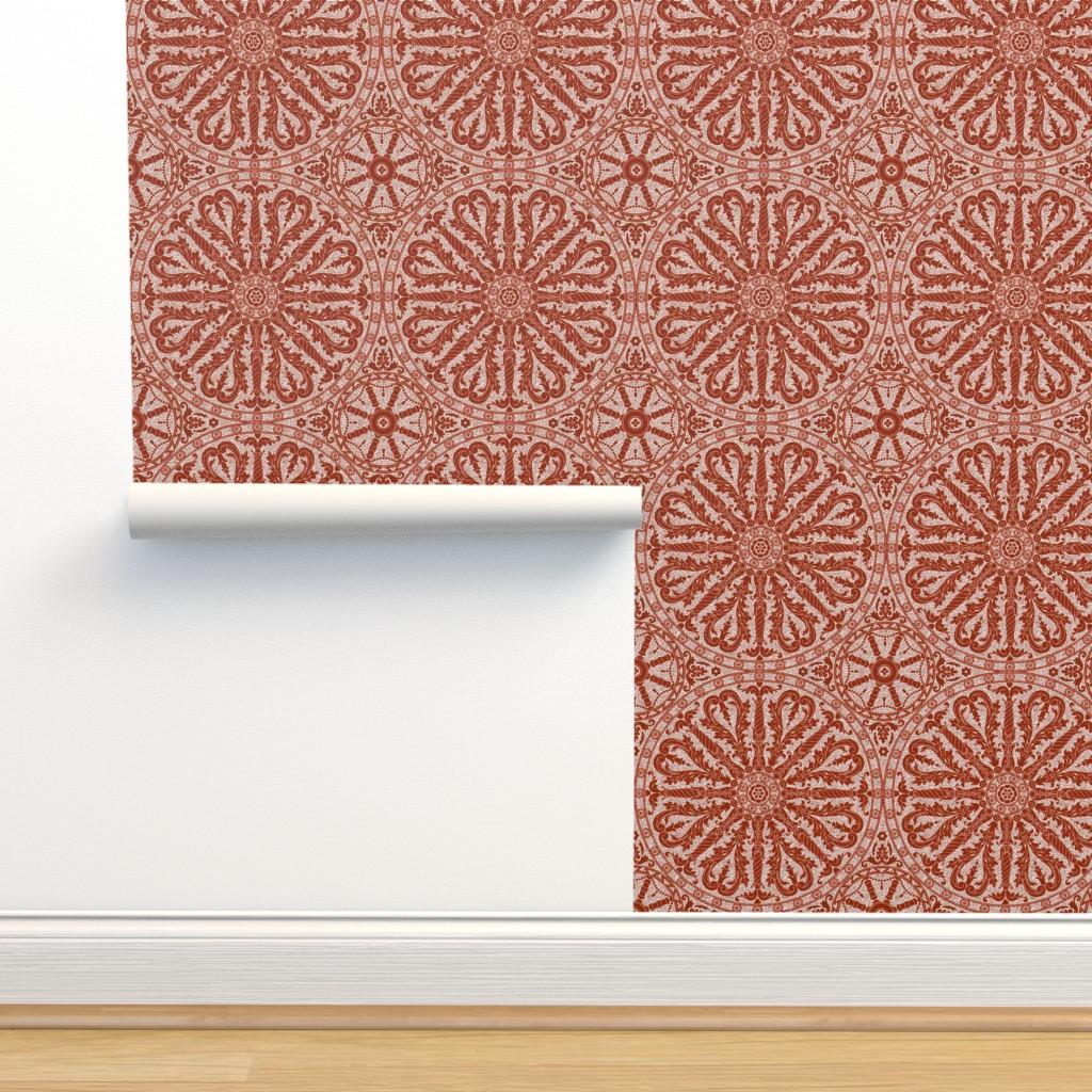 Isobar Durable Wallpaper featuring Catherine Wheel 3b by muhlenkott