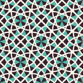 Mosaic Arabic Geometric Pattern