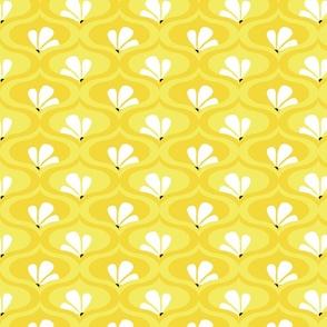 Morning Herbal Tea - yellow art deco coord 03