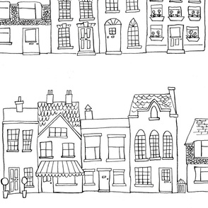 Down Our Street - Drawing
