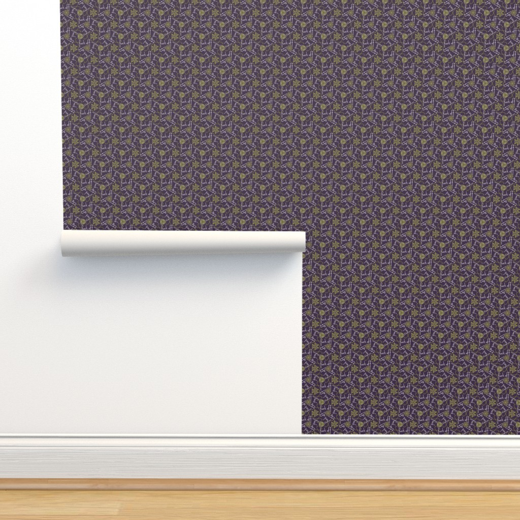 Isobar Durable Wallpaper featuring Fuck Off - cool by secretbean