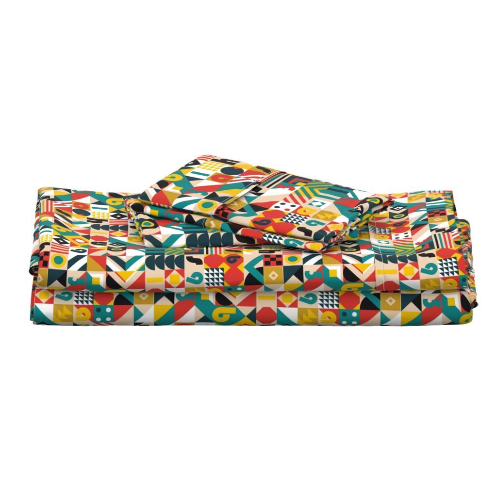 Langshan Full Bed Set featuring Bauhaus Movement by toy_joy