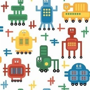 Rolling Robots - Brights