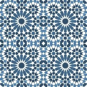 Moorish Moroccan Wedgewood Blue