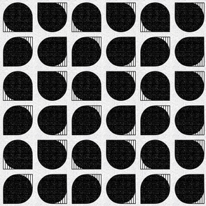 Bauhaus curves-black