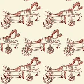 Victorian Child's Pony Trike