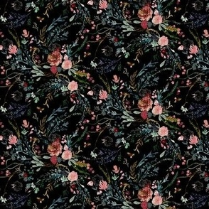 Fable Floral (black) MICRO