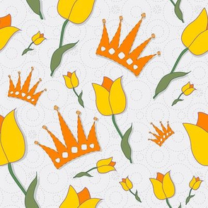 tulips and crowns