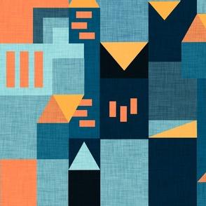 Bauhaus Teal Klee House