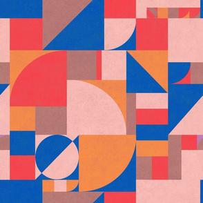 Muted Primary Bauhaus