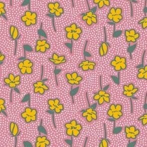 Yamabuki 2 Pink Dull Green