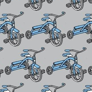Little Blue Tricycle