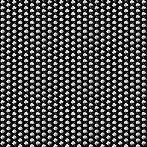 Rose black white-XS