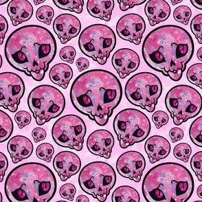 Sweet Skulls - Pink and Purple