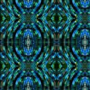 Blue Scatter