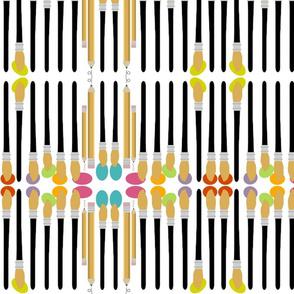 Color Mirror-stripe