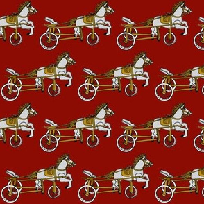 Victorian Child's Pony Tricycle