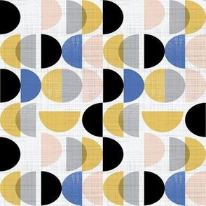 Bauhaus semi circles small scale