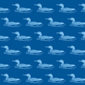 Loons - Dark Blue and Blue