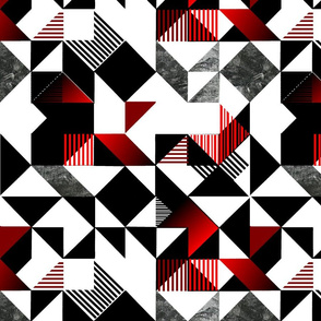 Black White And Red Movement