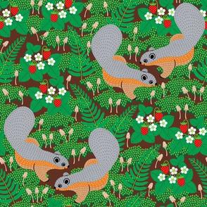Emerald Forest Squirrels
