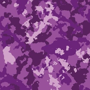 Camouflage lilac pattern