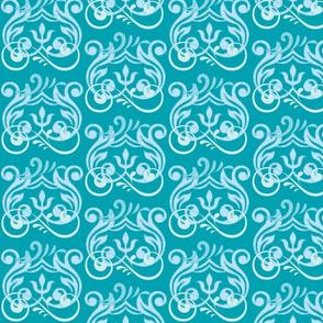 Fleurisse MED467 in Sky Blue