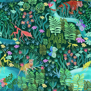 Magic woods, by Susanne Mason