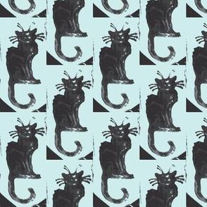 greys cat tattoo