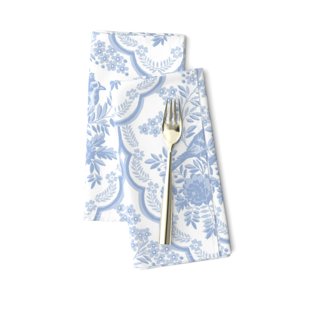 Amarela Dinner Napkins featuring Theresa blueberry by lilyoake