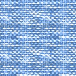 cool blue rug weave J h  rag
